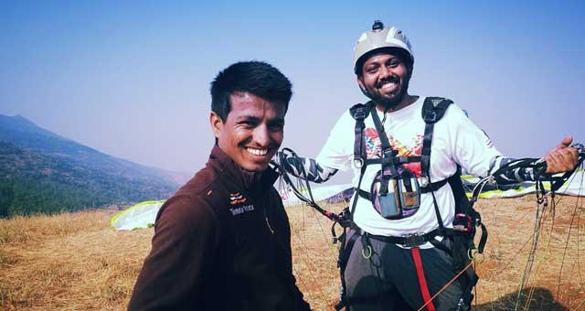 Paragliding Course in Kamshet