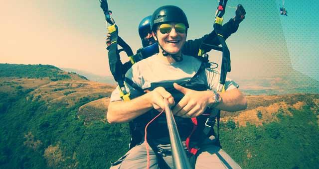 Paragliding Joyride in Kamshet